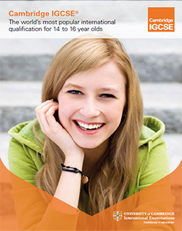 Cambridge IGCSE Profile 2013