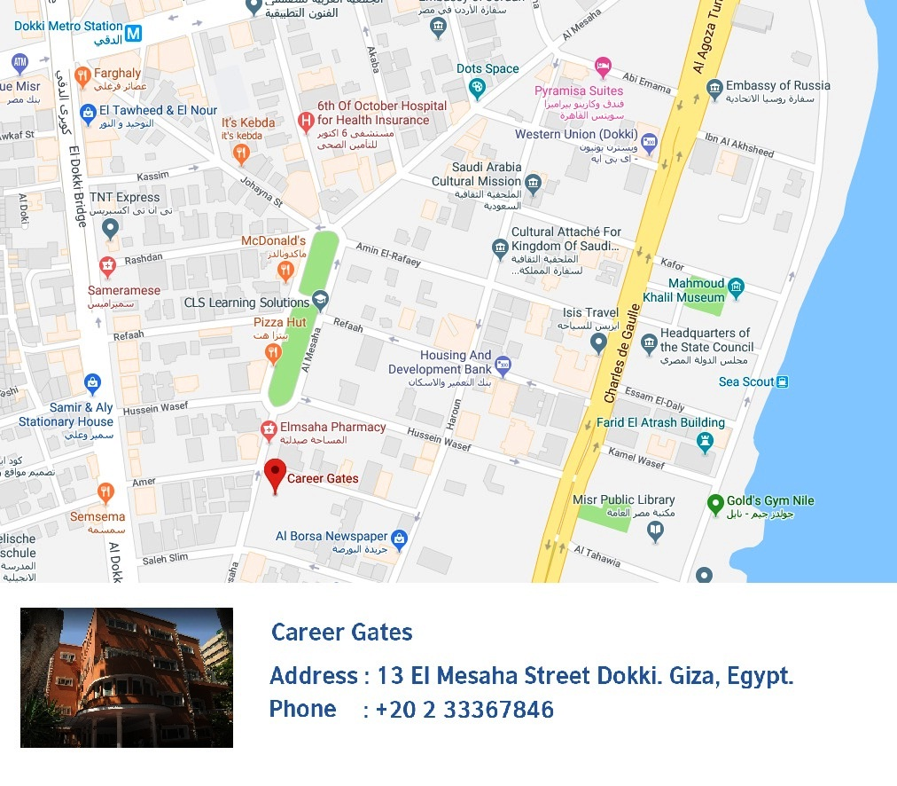 IG Zamalek : Career Gates Map
