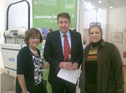 British Council Egypt organized an informal feedback meeting 2014